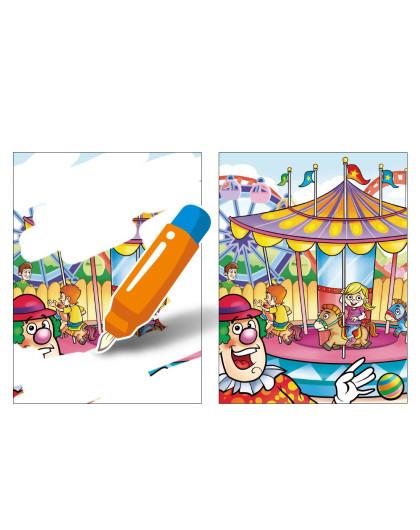 美乐 儿童水画涂鸦本 动物探险 游乐园