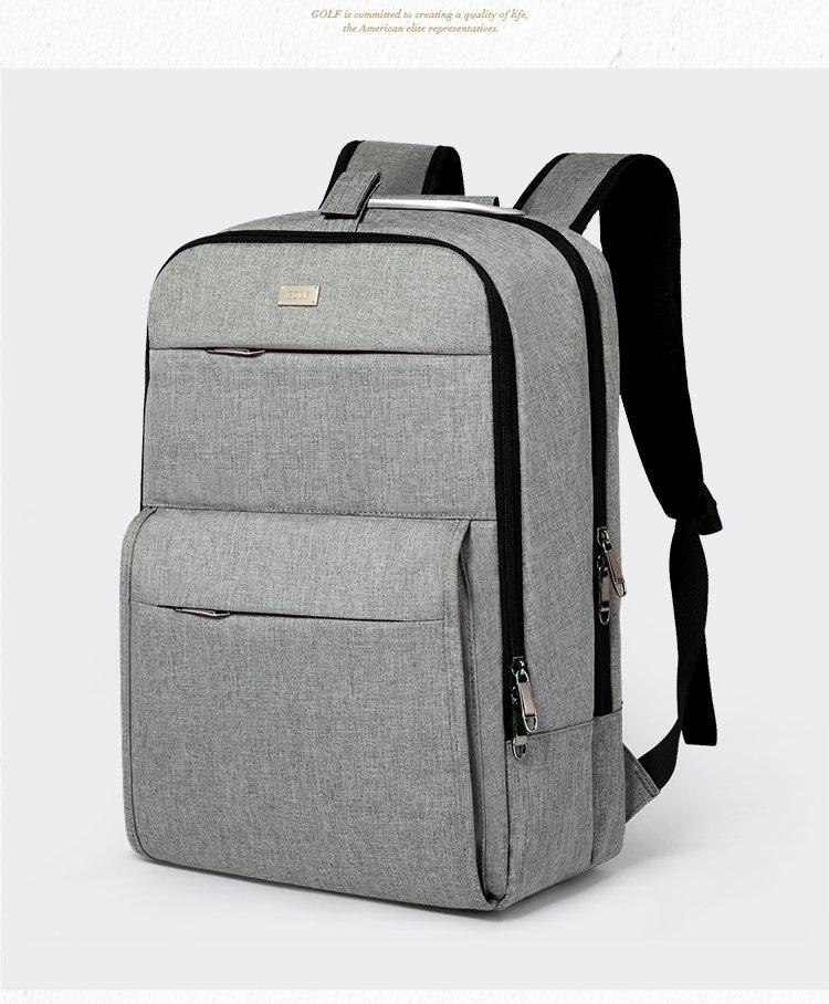 男士商务休闲旅行尼龙布电脑包双肩背包