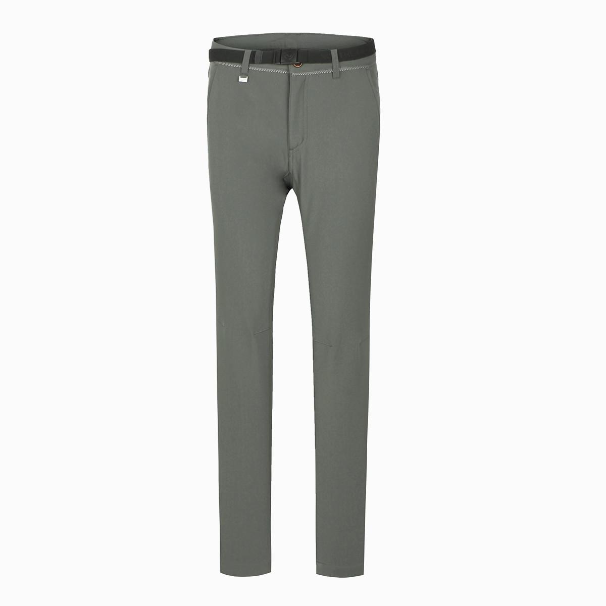 诺诗兰贴合保暖 亲肤面料 女式软壳裤 防风 抓绒保暖 耐磨GF062614暗影灰色