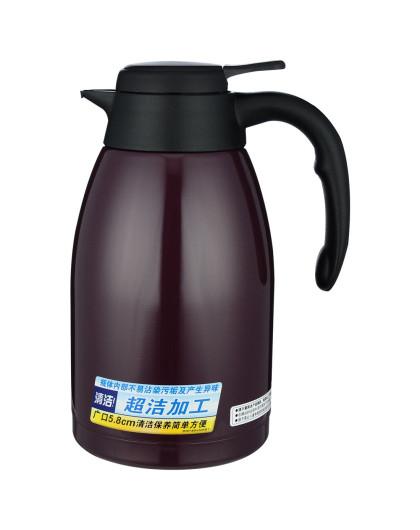 虎牌居家热水壶 安全设计长效保温 1.6l 葡萄紫