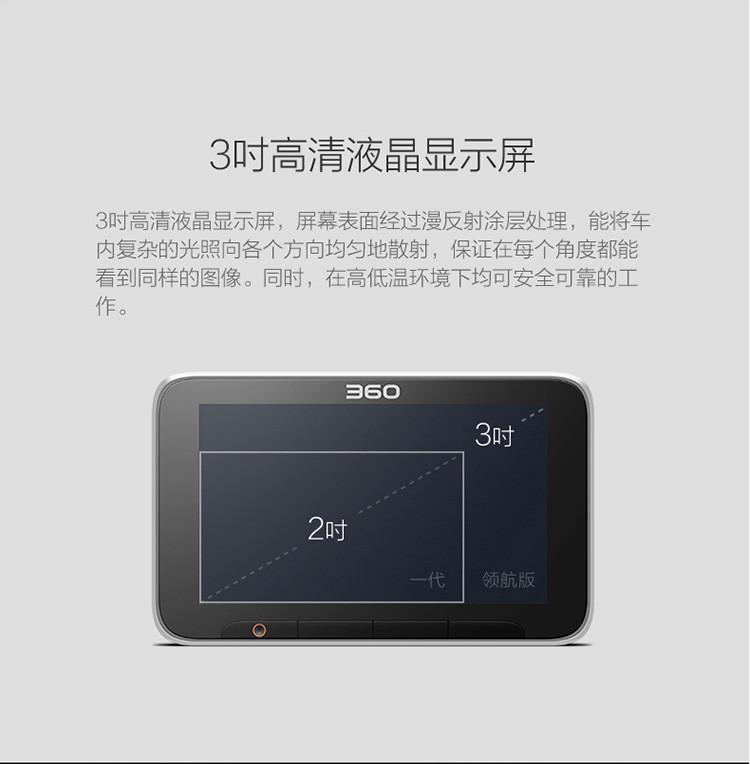 360行车记录仪领航版+32g存储卡