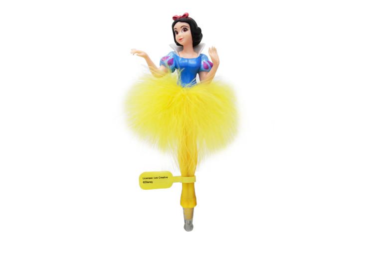 迪士尼公主人物圆珠笔蓝色白雪公主