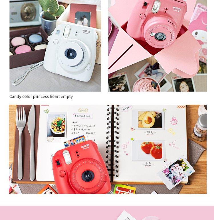 富士mini8一次成像相机 萌萌造型 可爱爆棚