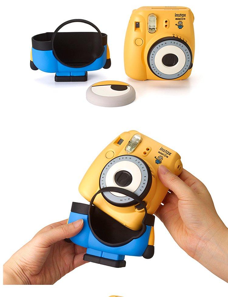 富士mini8小黄人一次成像相机 萌萌外形 有趣可爱