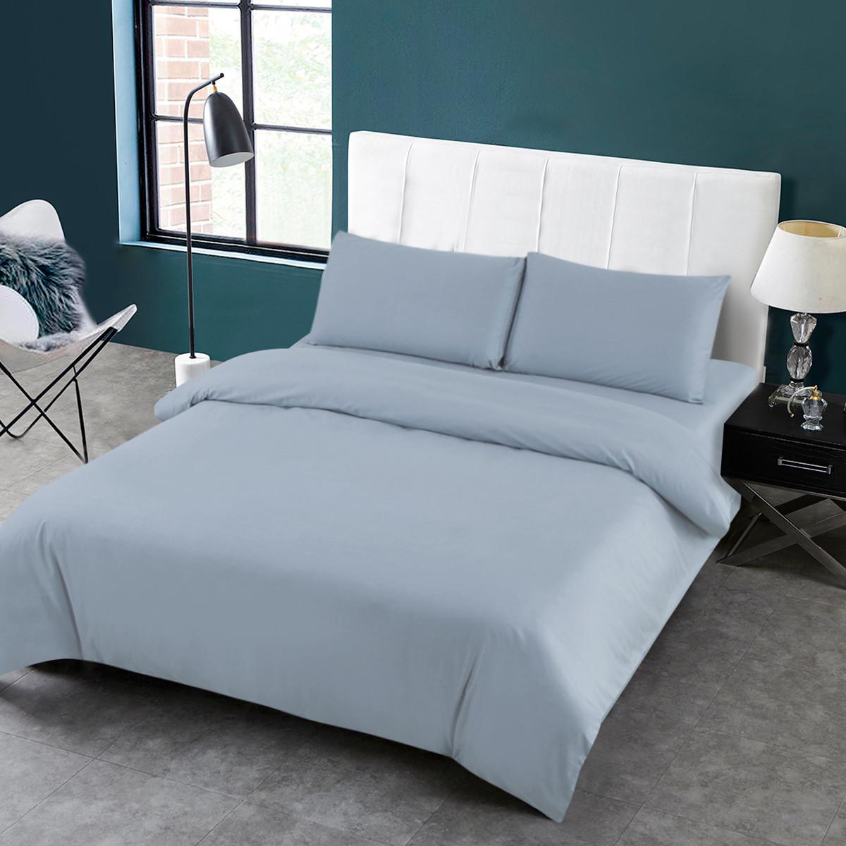 Ramada四季款纯棉纯色床上套件被套床单全棉四件套床上用品纯棉四件套BS171055L