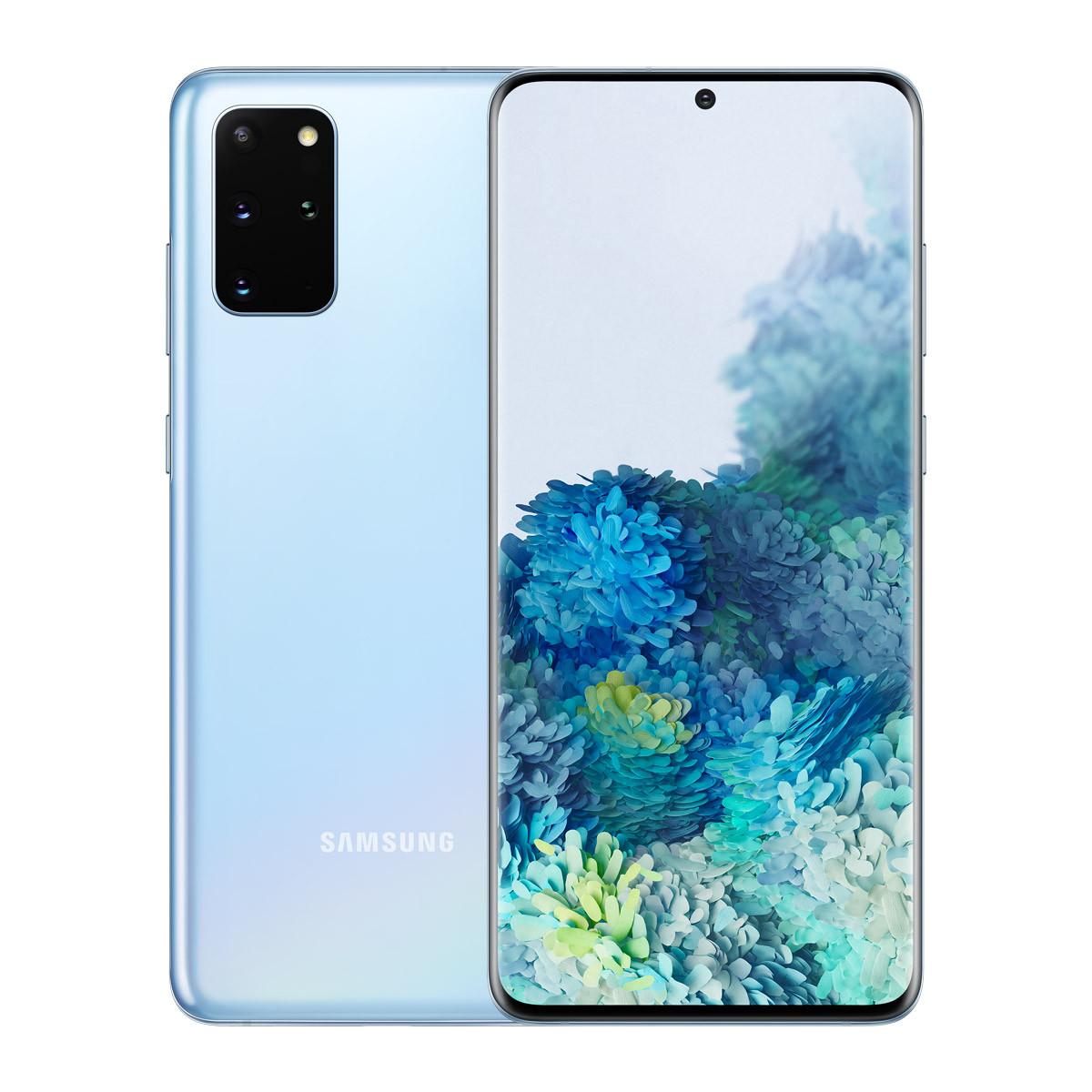 三星三星Galaxy S20+ 骁龙865  5G全网通手机游戏手机  12+128GGalaxy S20+/12+128G/浮氧蓝/标准套餐