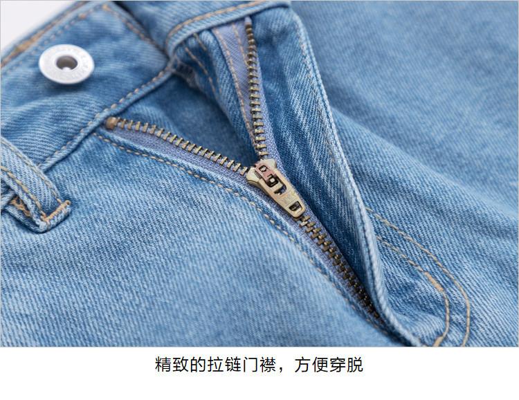 【蕾丝拼接】森马2019春季新款牛仔裙a字显瘦裙子ins潮牌半身裙女图片