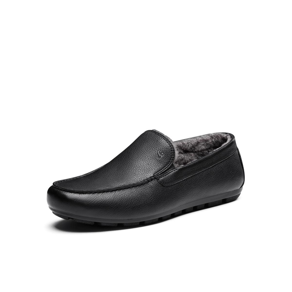 圣伽步SKAP/圣伽步牛皮商务正装时尚休闲乐福鞋男皮单鞋(绒里)1581606194