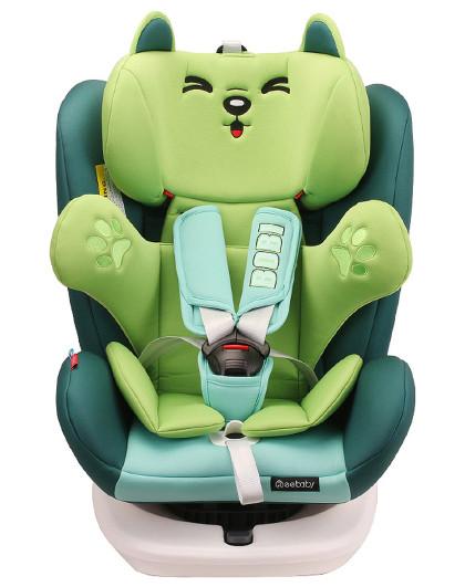 瑞贝乐汽车儿童安全座椅360度旋转出生-12岁isofix