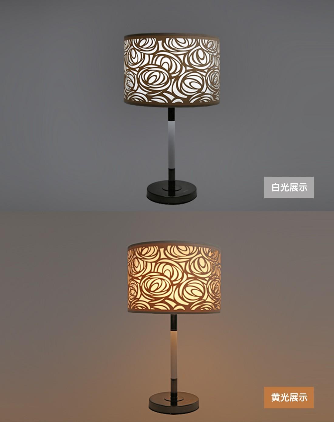 欧式床头台灯装饰灯rose