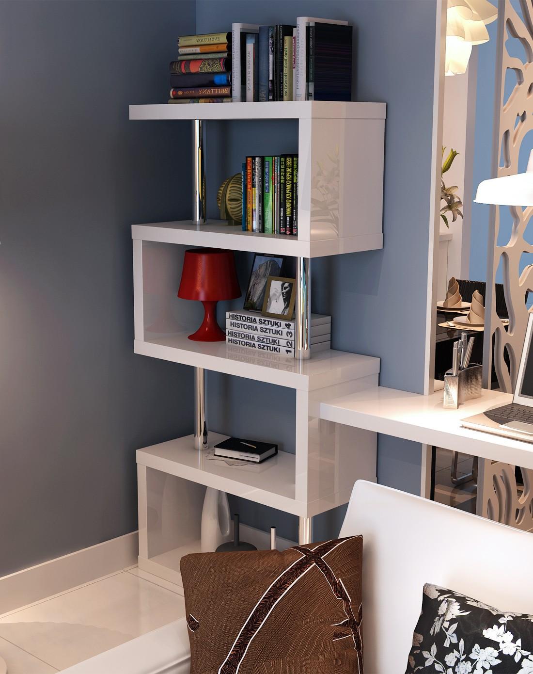 如何自制墙上置物架_创意墙上书架置物架客厅搁板收