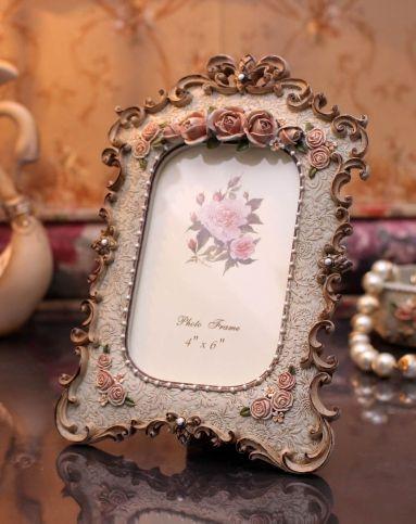 欧式浮雕花式相框家居装饰摆件