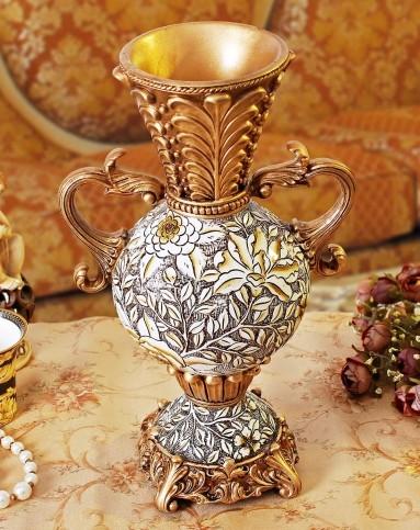 欧式复古浮雕花瓶