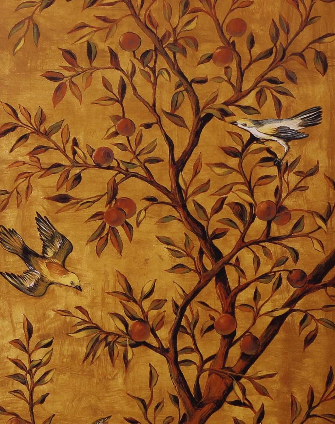 欧式风格装饰画-幸福树