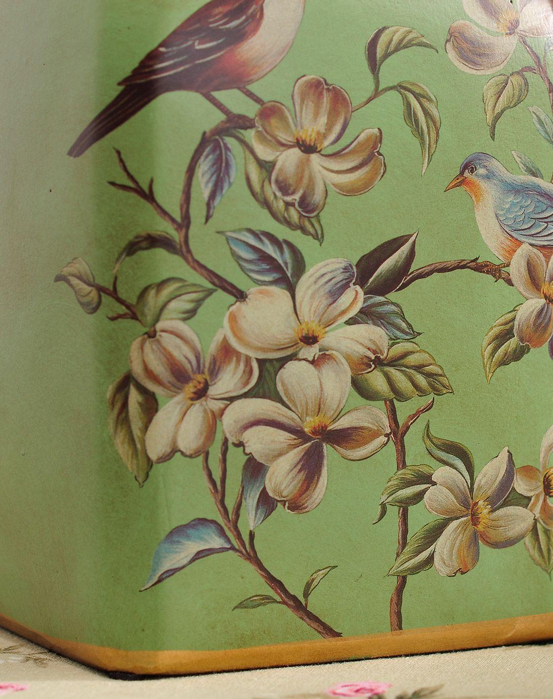 英伦欧堡anlunob家居美式花鸟储物罐gz07528-xiao