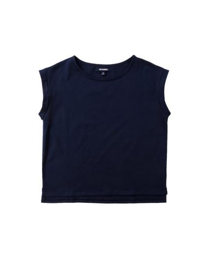 真维斯短袖t恤_真维斯女装宝蓝色宽松休闲圆领短袖T恤JE-62-2731018680_唯品会