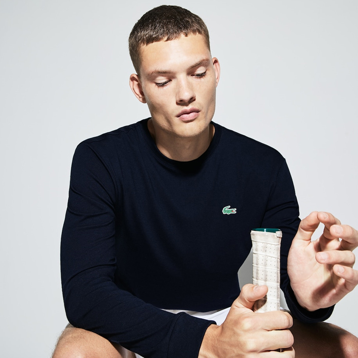 Lacoste 法国鳄鱼 男式经典纯色长袖T恤 TH0123 双重优惠折后¥251包邮 3色可选