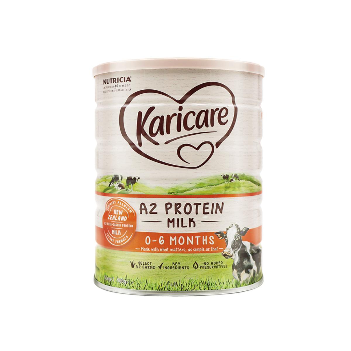 可瑞康A2蛋白婴幼儿牛奶粉1段900g