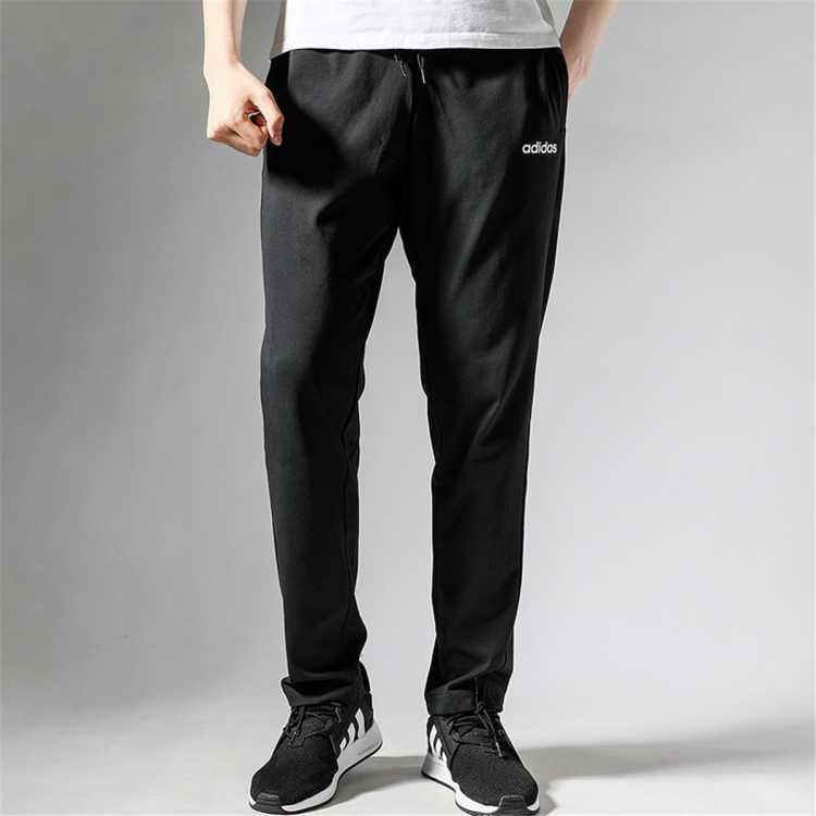 经典三条纹男士透气直筒裤运动长裤