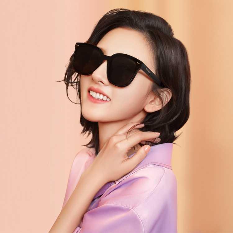 【口碑爆款】帕森祖儿同款太阳镜 情侣款时尚方框尼龙镜片潮墨镜