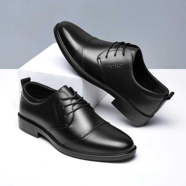 【牛皮】21夏季新款正装皮鞋办公鞋婚鞋商务休闲皮鞋真皮男鞋