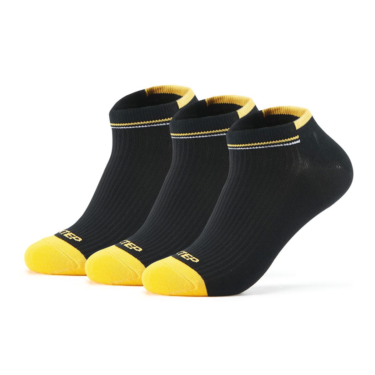 XTEP 特步 男款跑步袜(三双装) 15元