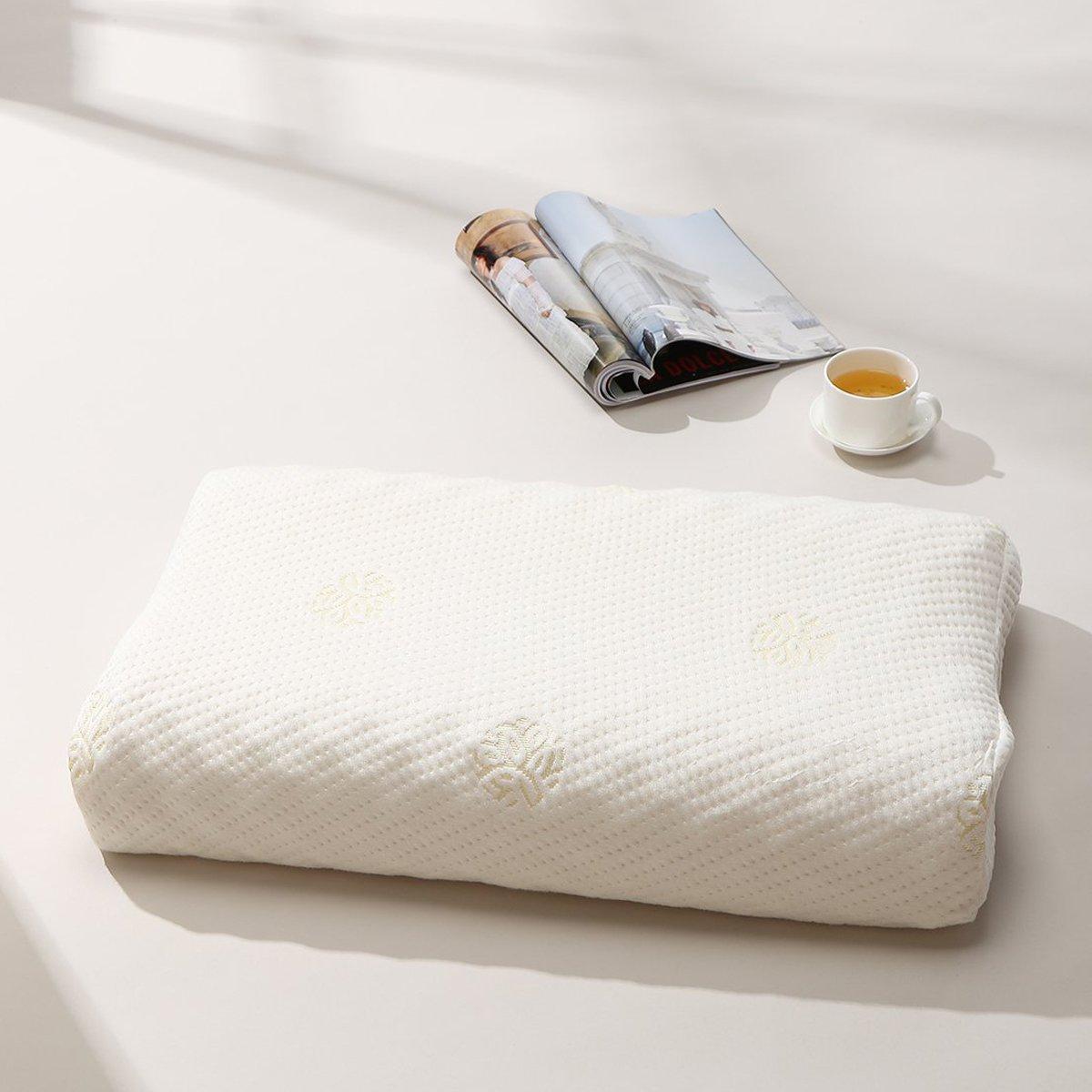 泰国乳胶枕_tatex泰国进口天然乳胶按摩枕枕头乳胶枕8856153582888_唯品会