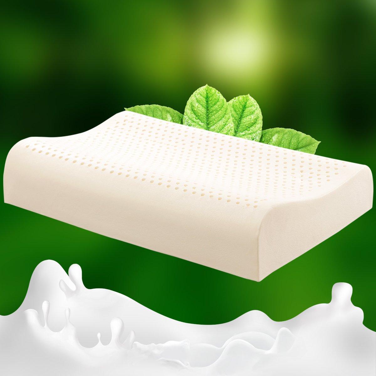 泰国乳胶枕_tatex泰国进口天然乳胶人体工学枕枕头乳胶枕8856153582877_唯品会