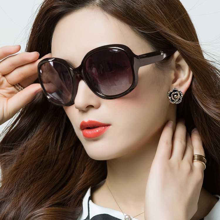 太阳镜女墨镜大框显瘦眼镜防晒防紫外线偏光驾驶墨镜女士太阳镜