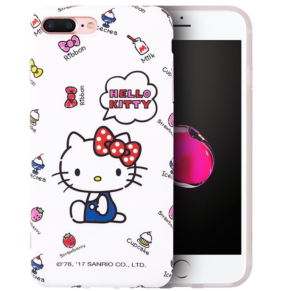 hello kitty 唯品会_HELLO KITTY苹果8plus手机壳iphone8/7plus全包防摔保护套WKT-IMD0203_唯品会
