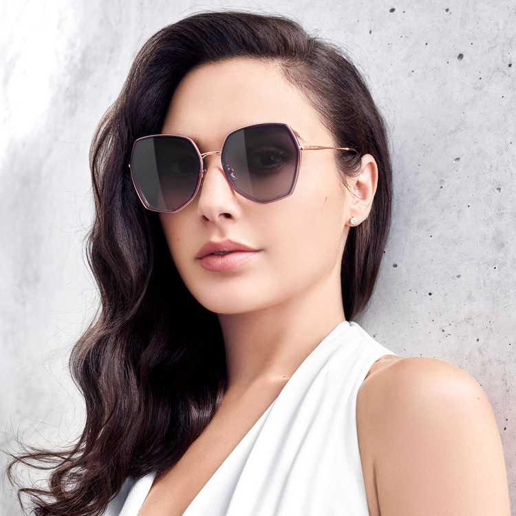 【明星同款】时尚太阳镜潮流多边形金属框墨镜女BL6088
